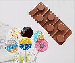 Pomôcky/Nástroje - Silikónová forma na lízatká, čokolády, cukrovinky, 1 ks - 11569901_