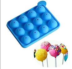 Pomôcky/Nástroje - Silikónová forma na lízatká, čokolády, cukrovinky, 1 ks - 11569979_