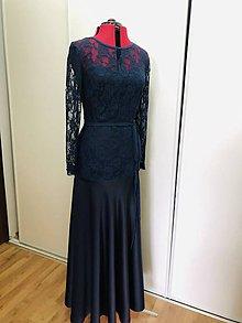Šaty - Modrá dáma - 11575785_