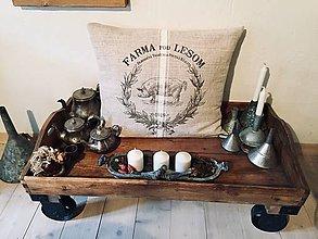 Úžitkový textil - Vankus...navliecka...Prasiatko - 11573233_