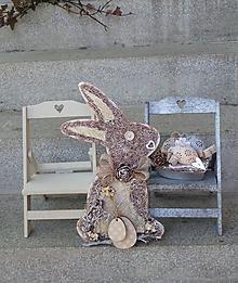 Dekorácie - závesná dekorácia:  Zajačik - 11576381_
