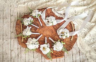 Pierka - Biele svadobné pierko - 11576893_