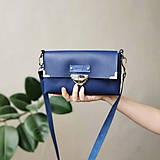 Kabelky - Kožená kabelka MidiMe (sky blue) - 11573762_