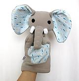 Maňuška slon - Sloník z Modrej savany