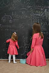 Detské oblečenie - Šaty - koral dlhý rukáv - 11575180_