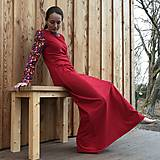 Šaty - Úpletové maxišaty - 11575757_