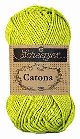 Galantéria - Catona -zelená č. 205 - 50g (Zelená č.245) - 11574429_