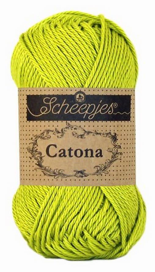 Catona -zelená č. 205 - 50g (Zelená č.245)