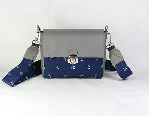 kabelka Táňa modrotlačová šedá1