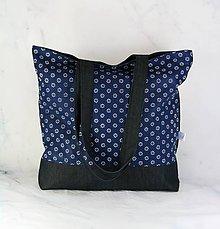 Nákupné tašky - Modrotlačová nákupná taška 3 - 11573297_