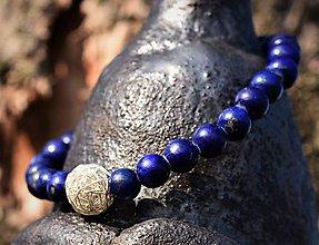 Náramky - Náramek Lapis lazuli - 11575890_