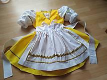 Detské oblečenie - Dievčenská folklórna súprava - 11575761_