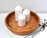 Nádoby - Stará drevená miska - 11578401_