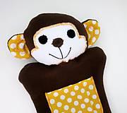 Hračky - Maňuška opica - Opička zo Žltej doliny - 11577622_
