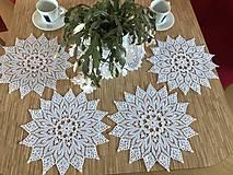Úžitkový textil - Luxusná sada hand made prestierania - 11577627_