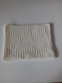 Textil - Detská pletená deka - 11578485_