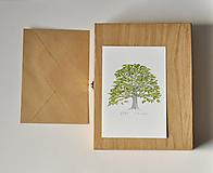 Papiernictvo - Pohľadnica - strom - 11578440_