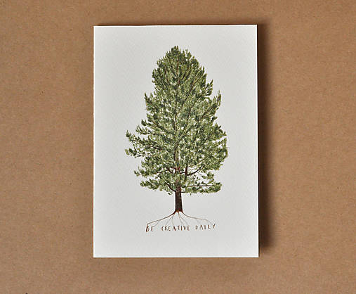 pohľadnica - strom