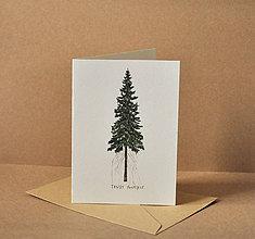 Papiernictvo - Pohľadnica - strom - 11578425_