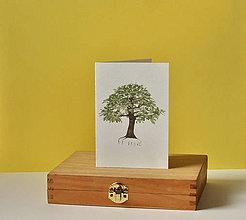 Papiernictvo - pohľadnica - strom - 11578452_