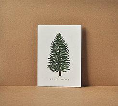 Papiernictvo - pohľadnica - strom - 11578457_