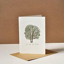 Papiernictvo - pohľadnica - strom - 11578460_