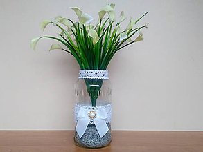 Dekorácie - Svadobná váza ❤️ - 11578920_