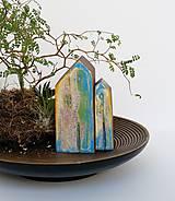 """Dekorácie - Drevené domčeky """"Pura vida"""" - 11578914_"""