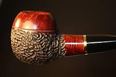 Iné - Štýlová fajka z briárového dreva #2005 - 11577104_