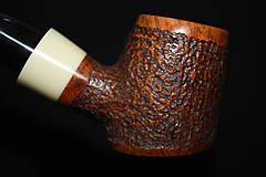 Iné - Štýlová fajka z briárového dreva #1912 - 11577222_