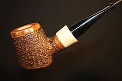 Iné - Štýlová fajka z briárového dreva #1912 - 11577224_