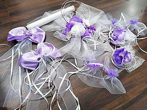 Dekorácie - Výzdoba na auto - lilia ikebana na stred kapoty - 11577500_