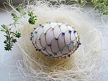 vajíčko modré