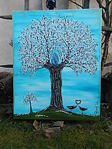 Obrazy - Strom magickej ochrany a čistoty  - 11579836_