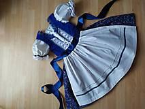 Detské súpravy - Folklórne oblečenie pre dievčatko - 11577769_