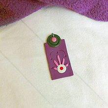 Náhrdelníky - Mimozemšťan na okrasu (FIMO šperk) - 11577739_