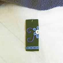 Náhrdelníky - Tu už kvitne (FIMO šperk) - 11577747_