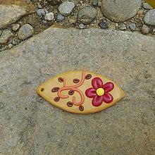 Náhrdelníky - Prírodná slza (FIMO šperk) - 11577760_