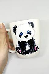 Nádoby - Panda Etela - hrnček na kávu/čaj - 11583251_