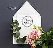 Papiernictvo - Svadobná pečiatka 144 - 11582149_