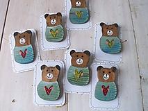 Odznaky/Brošne - Brošňa  - medvedík - 11581460_