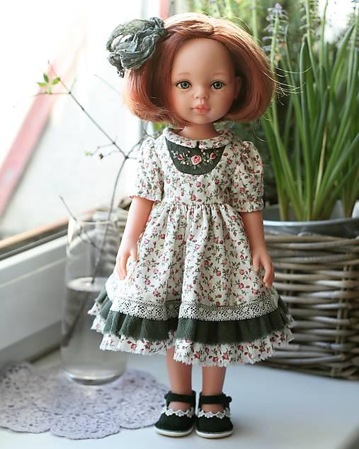 Šaty pre bábiku Paola Reina 32 cm