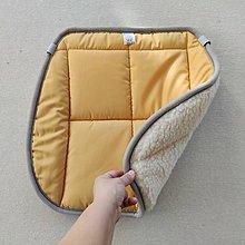 Úžitkový textil - RUNO SHOP Hrejivý sedák do auta 100% Ovčia vlna Baranček proti prechladnutiu a prehriatiu Mustard horčicová - 11582517_
