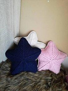 Textil - Vankúšik hviezda - 11583040_