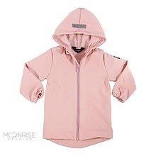 Detské oblečenie - Detská softshell bunda - púdrovo ružová - 11583178_