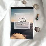 Papiernictvo - Malý zápisník veľkých snov - 11582620_