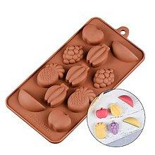 Pomôcky/Nástroje - Silikónová forma na čokolády, cukrovinky OVOCIE, 1 ks - 11582608_