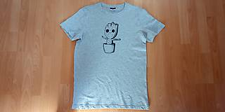 Tričká - Ručne maľované tričká - 11582980_