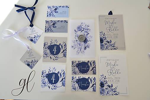 Svadobné oznámenie pečať kvety - set (svadobné oznámenie)