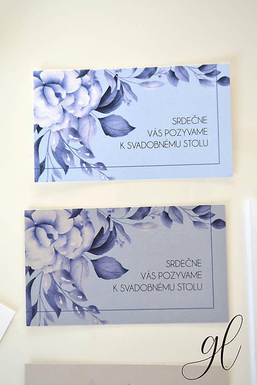 Svadobné oznámenie pečať kvety - set (pozvánka)
